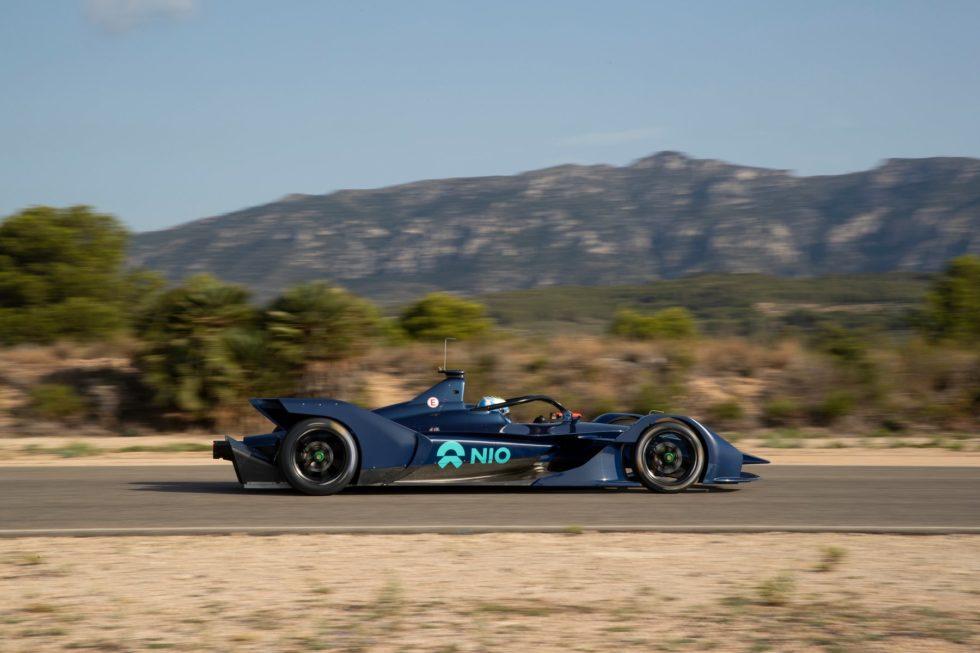 NIO Formula E Team Unveils The NIO 004 Car With Luca