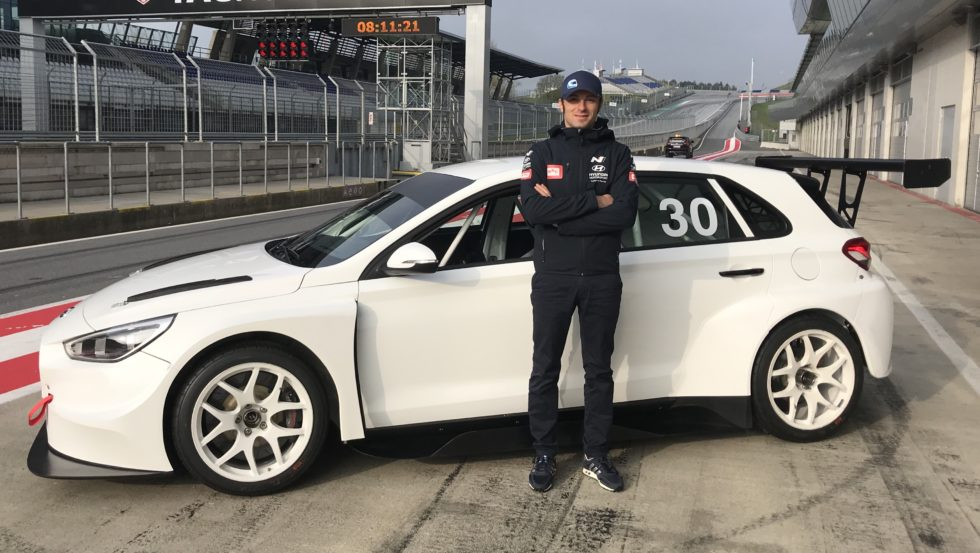 Luca Filippi Ready To Fight In TCR Europe With The BRC Racing Team